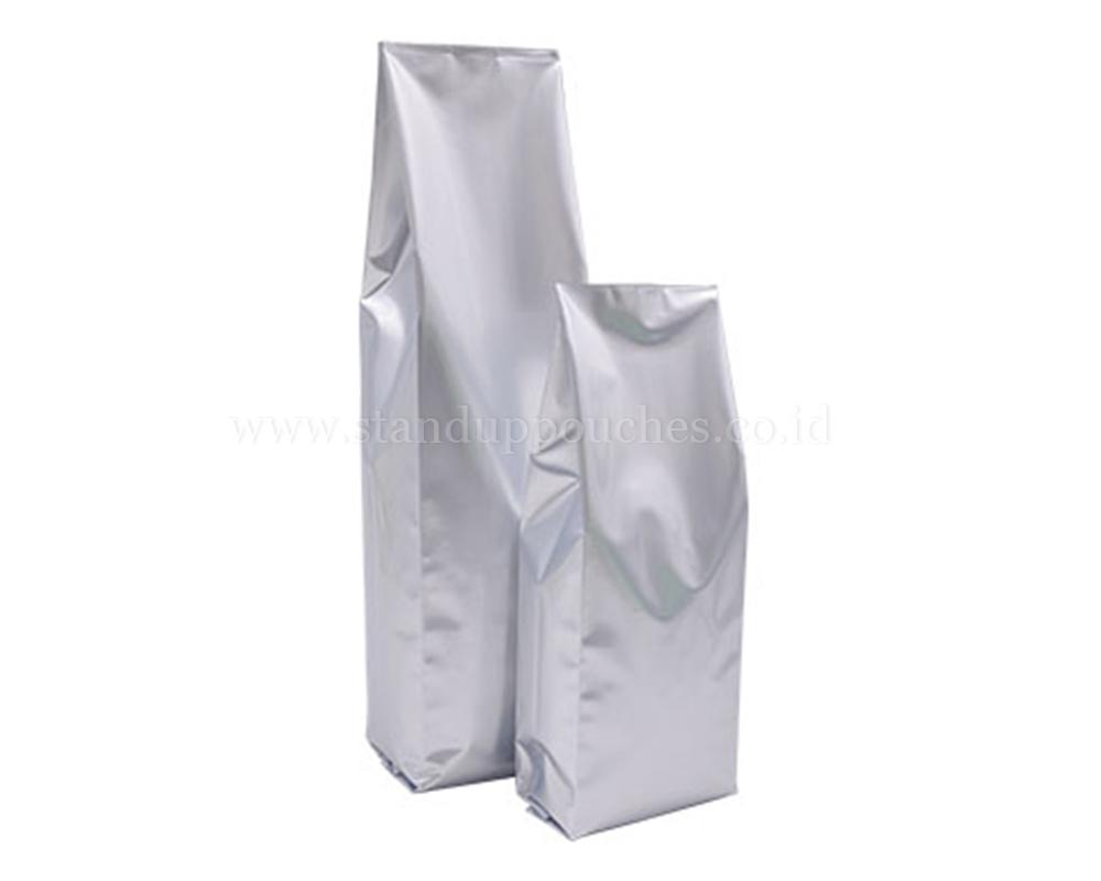 Matt Silver Bags