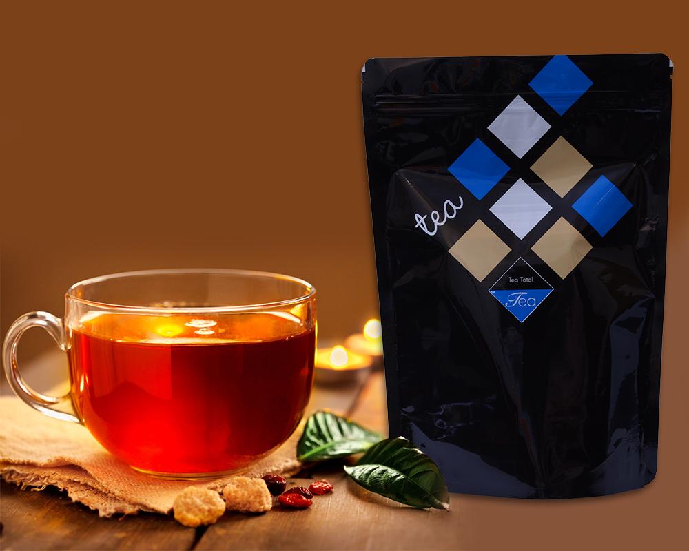 Organic tea packaging